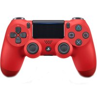 Controle Dualshock PS4 sem fio Sony - Vermelho