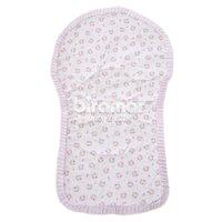 Capa para Carrinho de Bebê Bordada Tiffany Floral  Rosa
