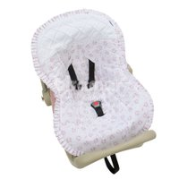Capa para Bebê Conforto Tiffany Floral  Rosa