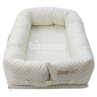 Bercinho Portátil Ninho para Bebê Sleep UM Jardim Secreto Nice Verde