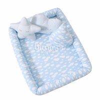 Colchonete Infantil para Bebê e Kids Nuvem Azul