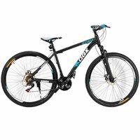 Bicicleta Aro 29 Freio a Disco 21 Vel Câmbio Shimano Preto/AzulQGK B29 QGKMTB001-02