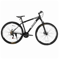 Bicicleta Aro 29 Freio a Disco 21 Vel Câmbio Shimano Preto/Branco QGK B29