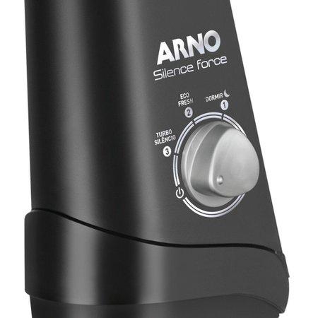 Ventilador de Coluna Arno Turbo Silence 40cm Preto
