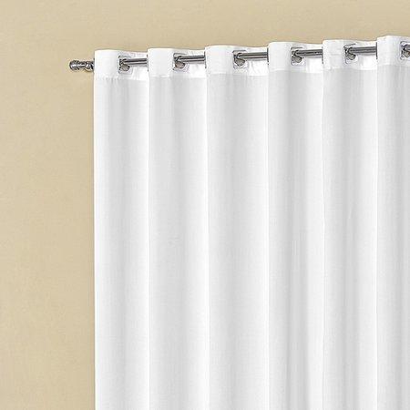 Cortina Boticari 2,00m X 1,80m Varão Simples 180 Fios Branco