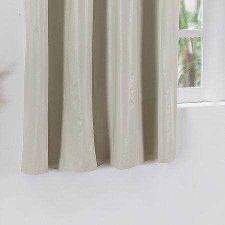 Cortina Corta Luz para Varão Simples 2,80 x 1,60 Marfim