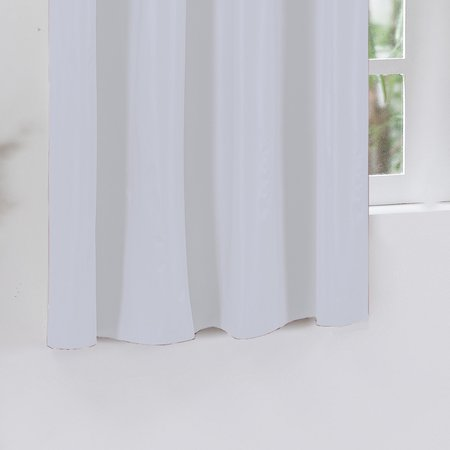 Cortina Corta Luz para Varão Simples 2,80 x 1,60 Branco