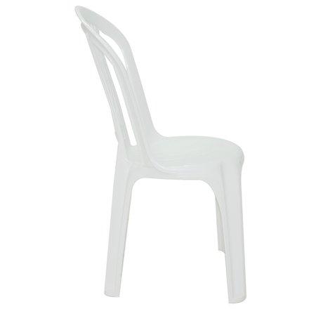 Cadeira Bistrô Tramontina Atlântida em Polipropileno Branco