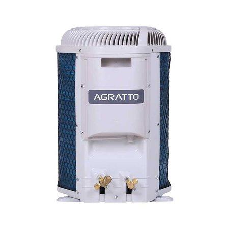 Ar Condicionado Split Hw On/off Agratto Fit Top 12000 Btus Quente/frio 220V Monofasico CCST12QF4-02