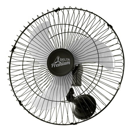 Ventilador de Parede Venti-Delta Premium 60cm Preto Bivolt
