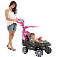 Smart Baby Comfort Preto e Rosa - Bandeirante