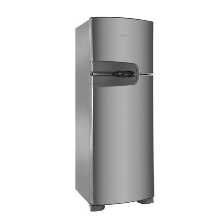 Geladeira Consul Frost Free Duplex 386 litros cor Inox com Prateleira Dobrável