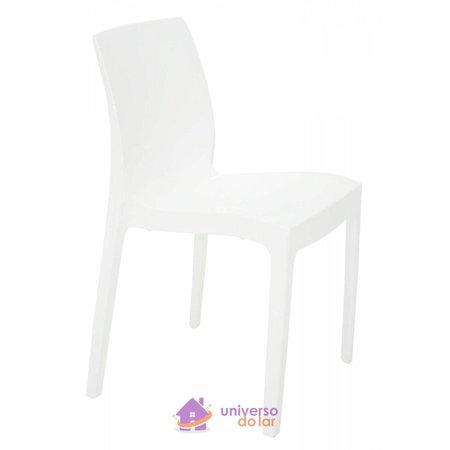 Cadeira Tramontina Alice Polida em Polipropileno Branco
