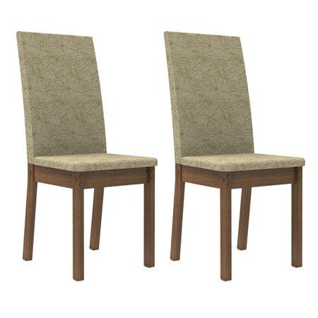 Kit 2 Cadeiras Madesa 4248