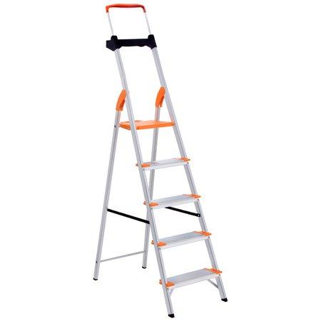 Escada de Alumínio Premium Tramontina 5 Degraus 91850115