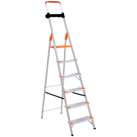 Escada de Alumínio Premium Tramontina 6 Degraus