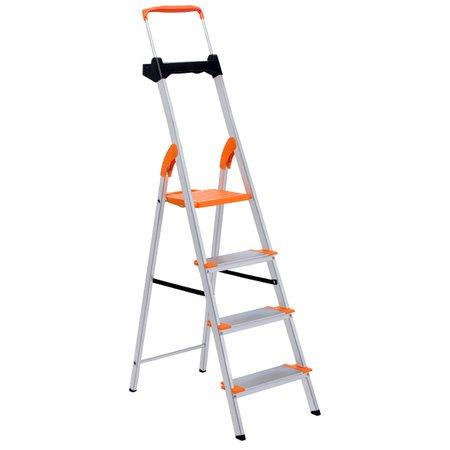 Escada de Alumínio Premium Tramontina 4 Degraus 91850114