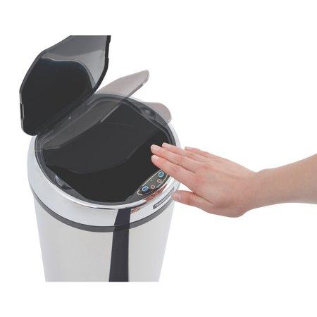 Lixeira Inox Tramontina Easy 12 L Automática com Sensor 94543012