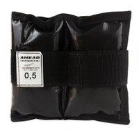Caneleira de Peso Ahead Sports AFF333 0,5kg Preta