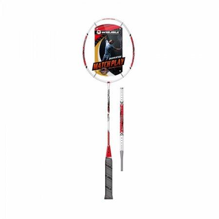 Raquete Badminton Thrones 500  Branco e Vermelho - Winmax