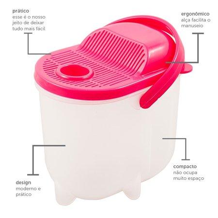 Compacto escorredor e lavador de grãos - Moderno
