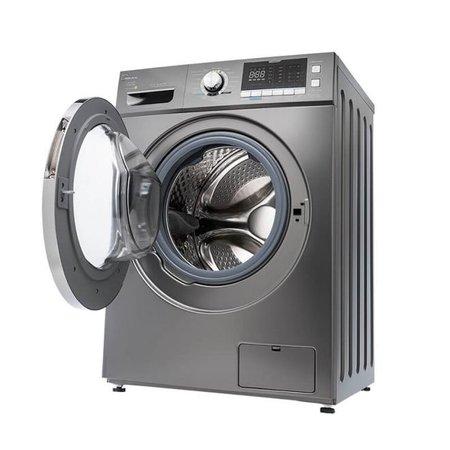 Lava e Seca Midea Prata 10,2Kg Storm Wash Inverter Tambor 4D - 110V