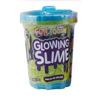 Glowing Slime Brilhante Azul - Fun Divirta-se