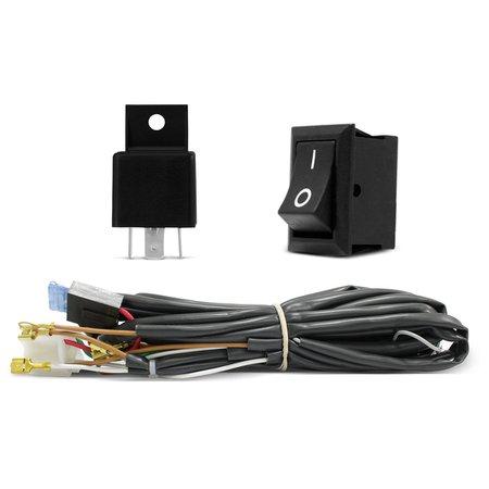 Kit Farol de Milha Palio 2010 a 2015 Aro Cromado + Kit New Xenon Plug and Play 6000K