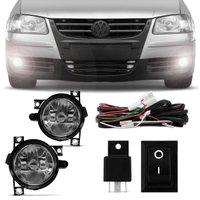 Kit Farol Milha Gol G4 06 a 14 Parati G4 06 a 13 Saveiro G4 06 a 10 Polo Hatch 03 a 06 Fox 06 a 09