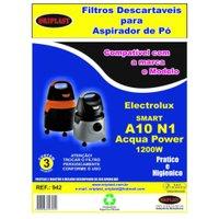 Kit 3 Sacos para Aspirador de Pó A10 N1 | Acqua Power 1200w Electrolux Compatível
