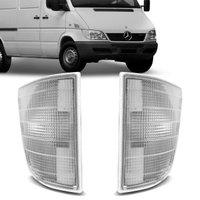 Lanterna Dianteira Pisca Sprinter 1995 1996 1997 1998 1999 2000 2001 2002 Cristal