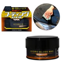 Cera Automotiva A Base De Agua Soft99 Hydro Gloss Wax Repelente 150g Ideal Para Carros Vitrificados