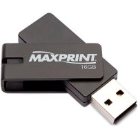 Pen Drive Maxprint Retrátil - 16GB