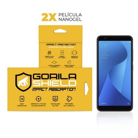 Película Nano Gel Dupla Zenfone Max Plus M1 - Gorila Shield