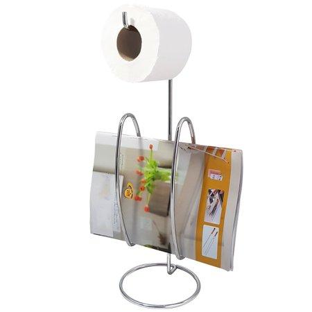 Suporte Para Papel Higiênico Papeleira De Chão Banheiro Aço