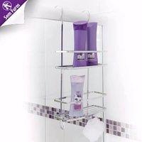 Toalheiro Banheiro Box Porta Shampoo E Papeleira De Encaixe