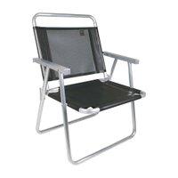 Cadeira Oversize Alumínio Preta 2153 Mor