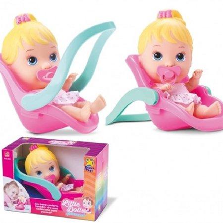 Boneca Little Dolls Conforto 3 Anos + - Diver Toys