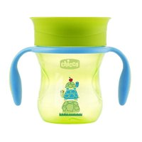 Copo Perfect Cup 360º Verde Tartaruga 200ml - Chicco
