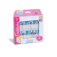 Fraldinha My Little Collection 10un. Para Bonecas - Diver Toys