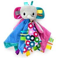 Naninha Elefante Colorido - Bright Starts