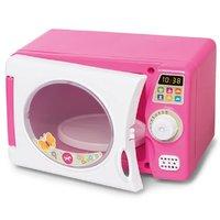 Microondas De Brinquedo Com Som Rosa - Calesita