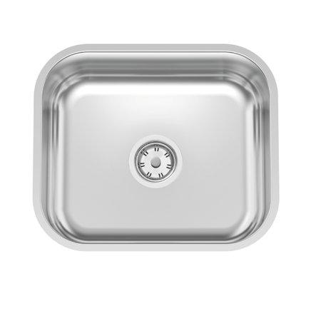 Cuba n.0 Tramontina Lavínia 40 BL Standard em Aço Inox Polido 40 x 34 x 14,5 cm com Válvula