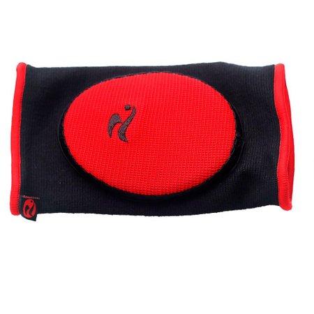 Cotoveleira Futsal Infantil Realtex RX0225A Vermelho