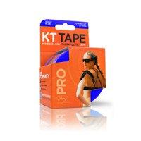 Bandagem Elástica Sintética - Kt Tape 20 Tiras Azul Escuro