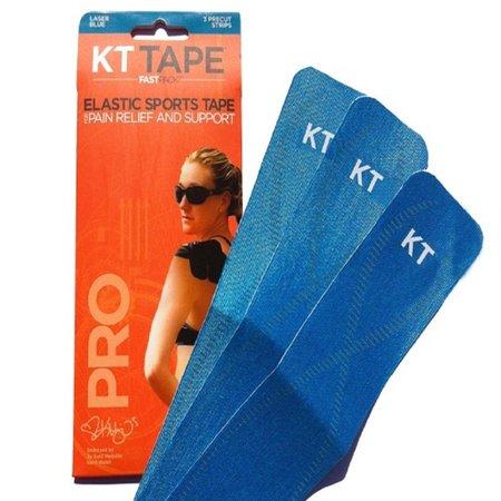 Bandagem Elástica Sintética - Kt Tape 3 Tiras Azul Turquesa