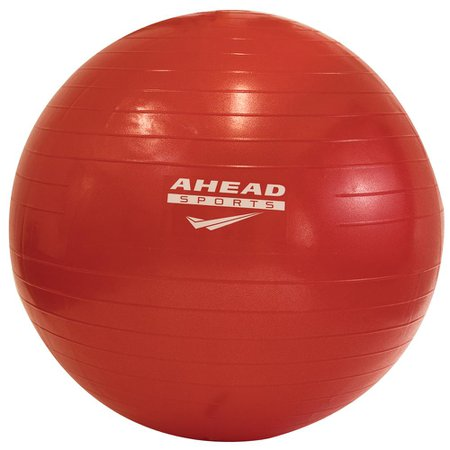 Bola de Pilates 55cm Ahead Sports AS1225A Vermelha