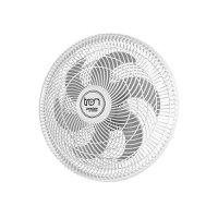 Ventilador de Parede Tron Premium 50cm Branco / Prata