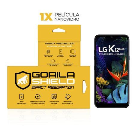 Película de Nano Vidro para LG K12 Max - Gorila Shield