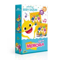 Jogo da Memória Baby Shark - Toyster